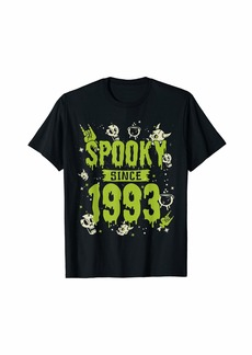 Born Spooky Since 1993 Halloween Bday Gifts 26th Birthday T-Shirt