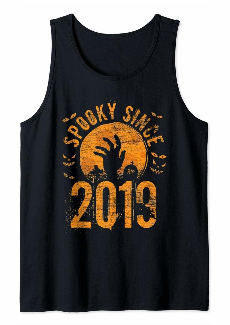 Born Spooky Since 2019 Halloween Bday Gifts Birthday Tank Top