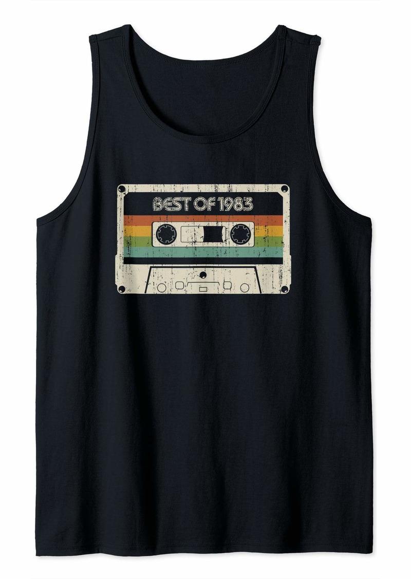 Born Vintage Best of 1983 36th Birthday Cassette Tank Top