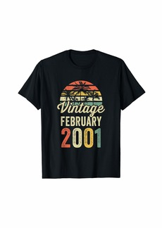 Born Vintage Since February 1991 Bday Vintage 30Th Birthday T-Shirt