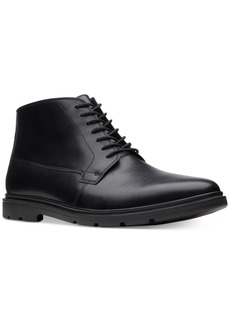Bostonian Bostonain Men's Luglite Mid Plain-Toe Waterproof Casual Boots Men's Shoes
