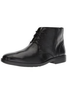 Bostonian Men's Birkett Mid Chukka Boot black leather 115 M US