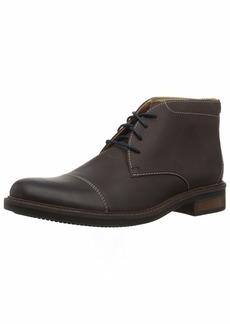 Bostonian Men's Maxton Mid Chukka Boot dark brown leather 00 M US