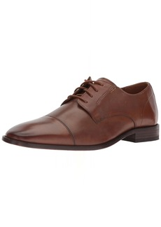 Bostonian Men's Nantasket Cap Oxford Dark tan Leather 8.5 Wide US