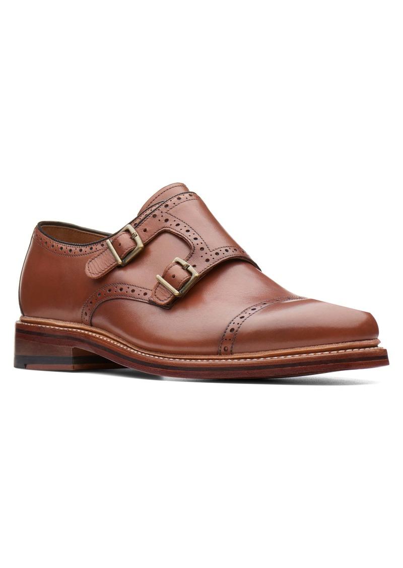 Bostonian Somerville Mix Double Buckle Monk Shoe (Men)
