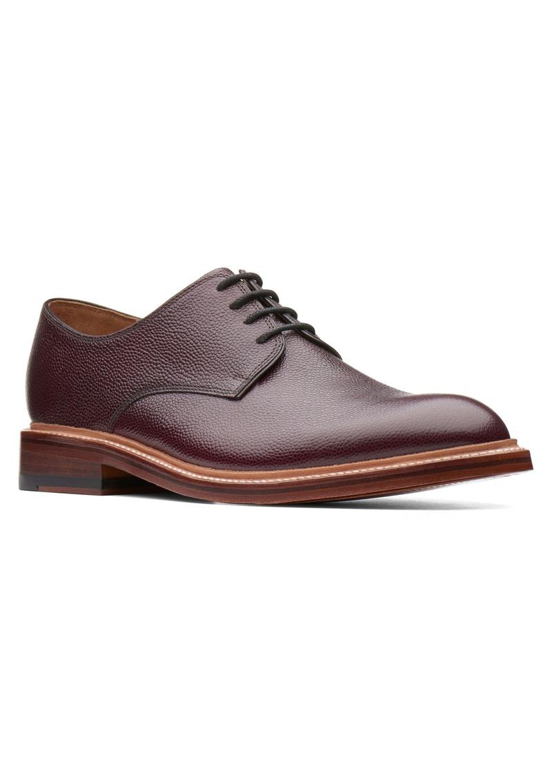 Bostonian Somerville Pebbled Plain Toe Derby (Men)