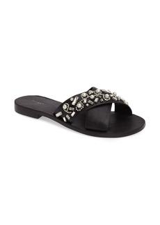 Botkier Alina Embellished Slide Sandal (Women)