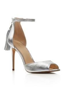 Botkier Anna Leather Ankle Strap High Heel Sandals