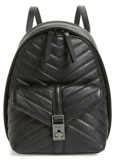 Botkier Dakota Quilted Leather Backpack