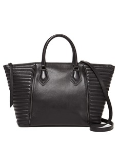 Botkier Leather Moto Satchel