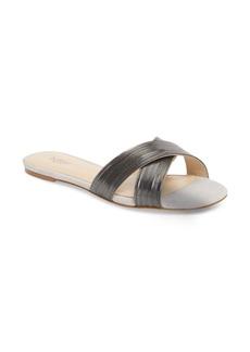 Botkier Millie Cross Strap Slide Sandal (Women)