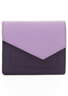 Botkier Mini Cobble Hill Colorblock Leather Wallet
