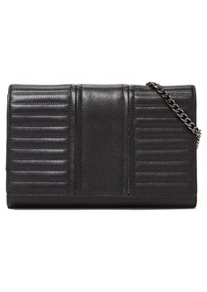 Botkier Moto Leather Wallet on a Chain