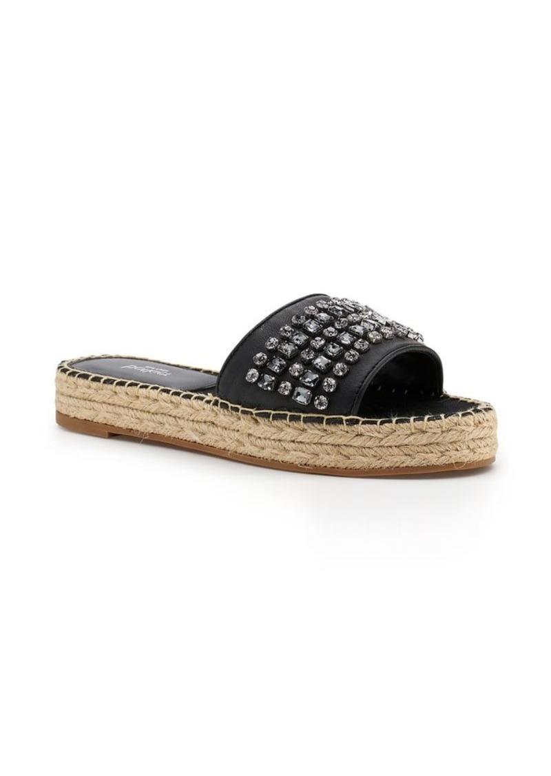 c0b7e226e Botkier Botkier New York Julie Leather Jeweled Espadrille Sandals ...