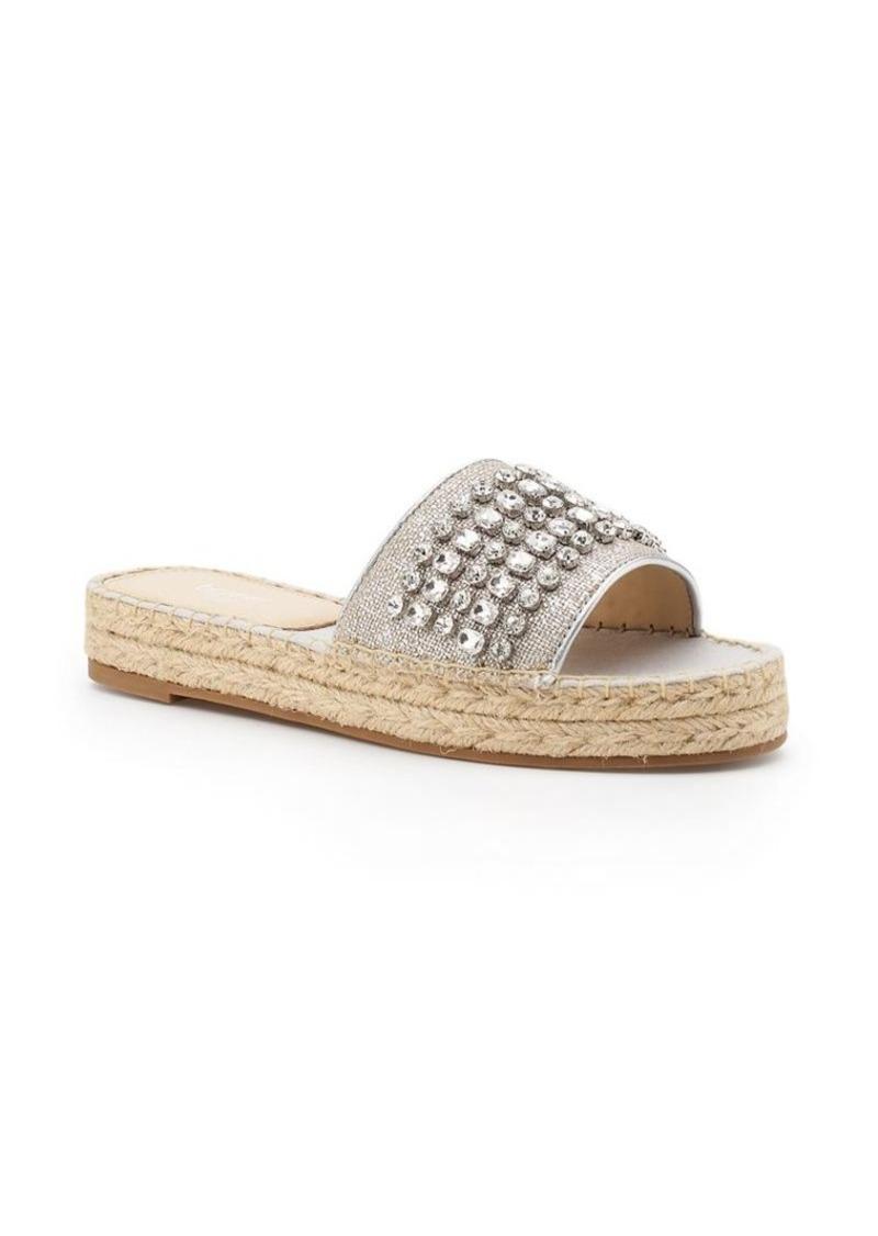 98444ad17 Botkier Botkier New York Julie Linen Jeweled Espadrille Sandals