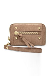 BOTKIER NEW YORK Logan Small Zip Leather Wallet