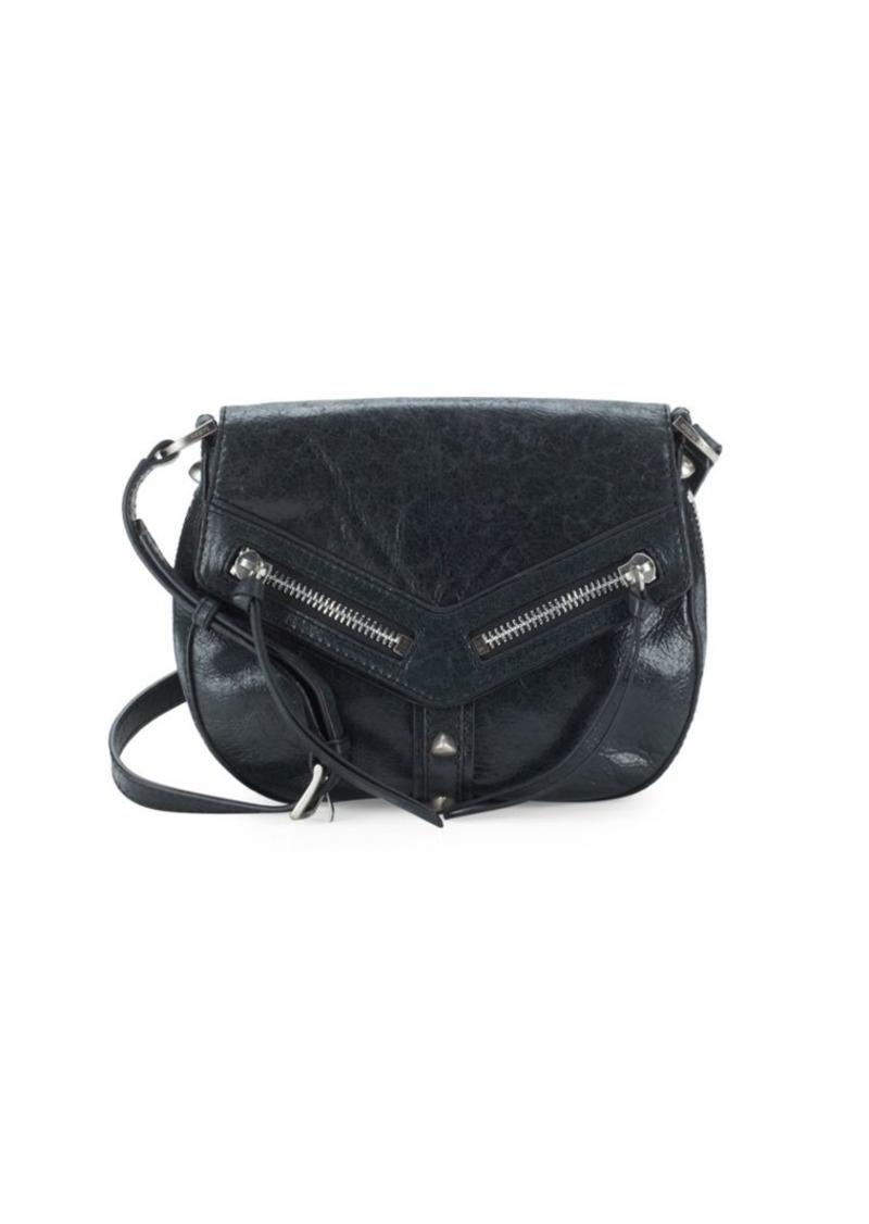 color brilliancy new selection distinctive design Botkier Trigger Leather Crossbody Saddle Bag   Handbags