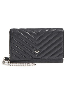 Botkier Soho Calfskin Leather Wallet on a Chain