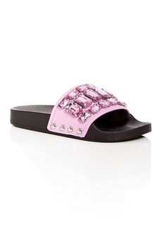Botkier Women's Freda Embellished Slide Sandals