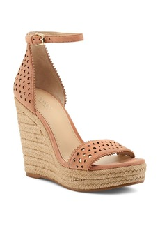 Botkier Women's Jamie Leather Espadrille Wedge Sandals
