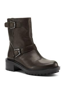 Botkier Women's Marlow Leather Moto Boots