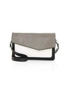 Botkier Cobble Hill Colorblock Leather Shoulder Bag