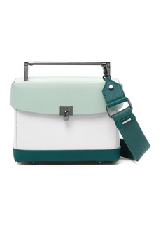 Botkier Lennox Lunchbox Leather Crossbody Bag