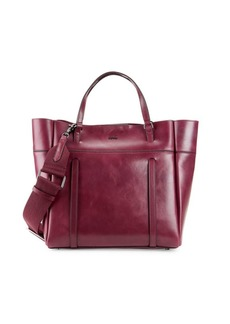 Botkier Alix Logo Leather Tote
