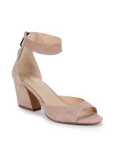 017f81eb501 Botkier Pilar Suede Ankle-Strap Sandals