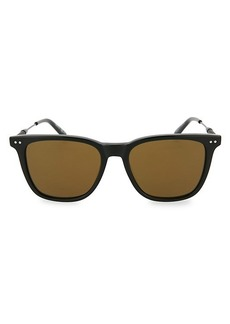 Bottega Veneta 43MM Core Square Sunglasses