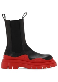 Bottega Veneta 50mm Lvr Exclusive Leather Beatle Boots