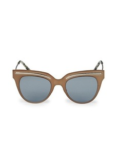 Bottega Veneta 50MM Wayfarer Sunglasses
