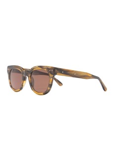 Bottega Veneta 51mm Round Sunglasses