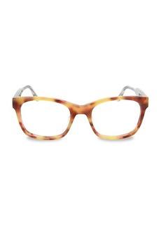Bottega Veneta 51MM Square Optical Glasses