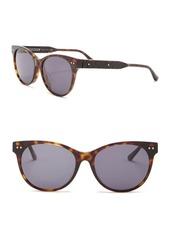 Bottega Veneta 52mm Rounded Cat Eye Sunglasses
