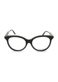 Bottega Veneta 54MM Oval Optical Glasses