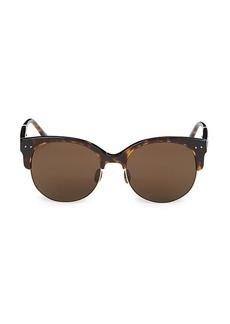 Bottega Veneta 57MM Clubmaster Sunglasses