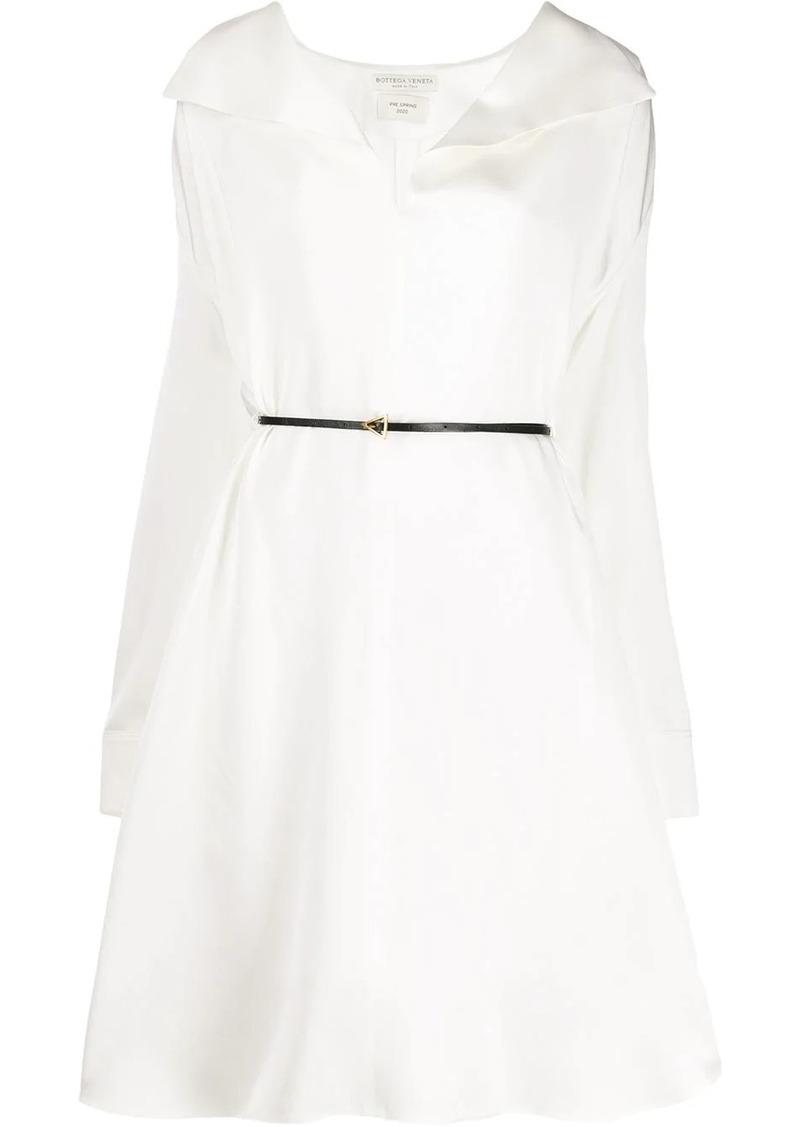Bottega Veneta belted shirt dress