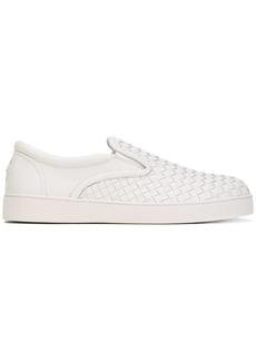 Bottega Veneta bianco Intrecciato nappa sneaker