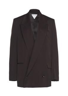 Bottega Veneta - Women's Oversized Wool Blazer - Black - Moda Operandi