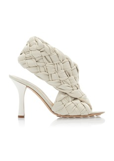 Bottega Veneta - Women's The Board Sandals   - White/brown - Moda Operandi