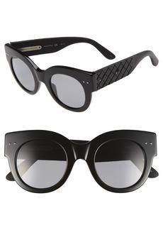 Bottega Veneta 48mm Sunglasses