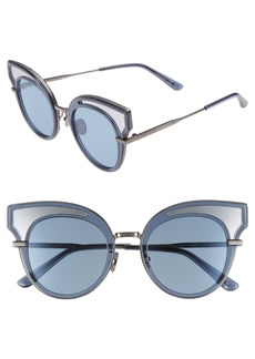 Bottega Veneta 49mm Cat Eye Sunglasses