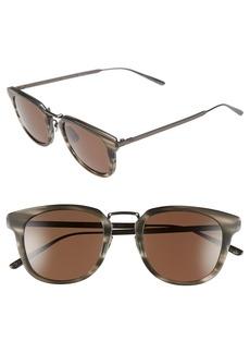 Bottega Veneta 49mm Retro Sunglasses