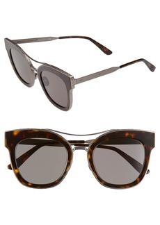Bottega Veneta 50mm Retro Sunglasses