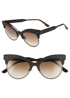 Bottega Veneta 52mm Cat Eye Sunglasses