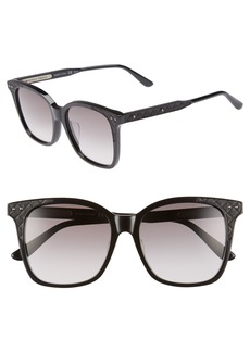 Bottega Veneta 52mm Oversized Sunglasses