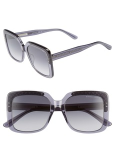 Bottega Veneta 54mm Square Lens Sunglasses