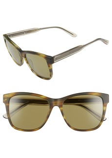 Bottega Veneta 55mm Sunglasses