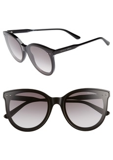 Bottega Veneta 61mm Cat Eye Sunglasses